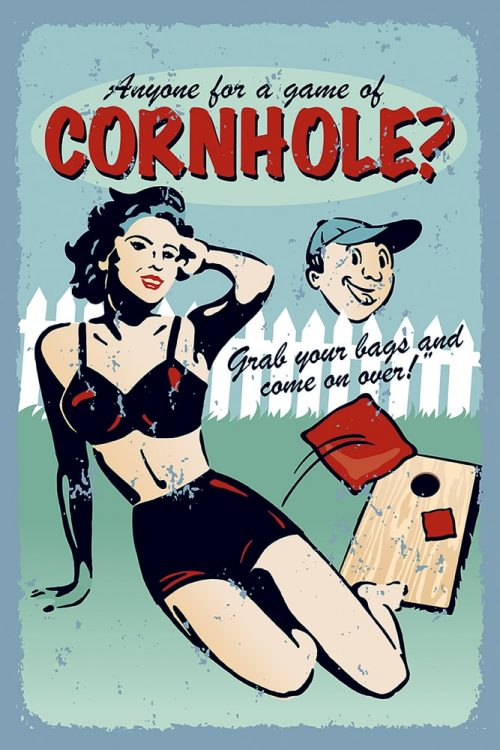Anyone for Cornhole