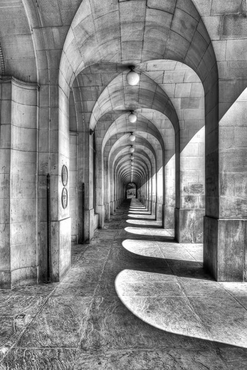 Manchester Library Arches