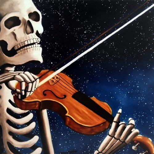 Bone Man Violin