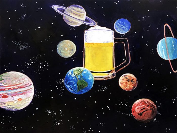 Beer is the Center of My Universe