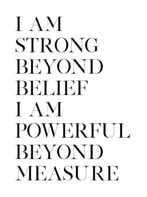 Strong and Powerful