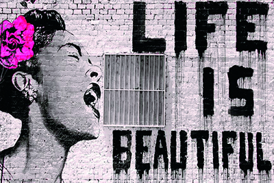 Banksy - Life Is Beautiful