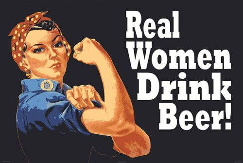 Real Women Drink Beer!