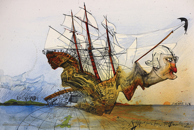 Ralph Steadman - Curse of Lono