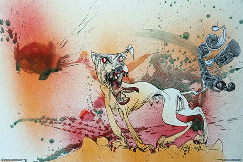 Ralph Steadman - Raging Bitch