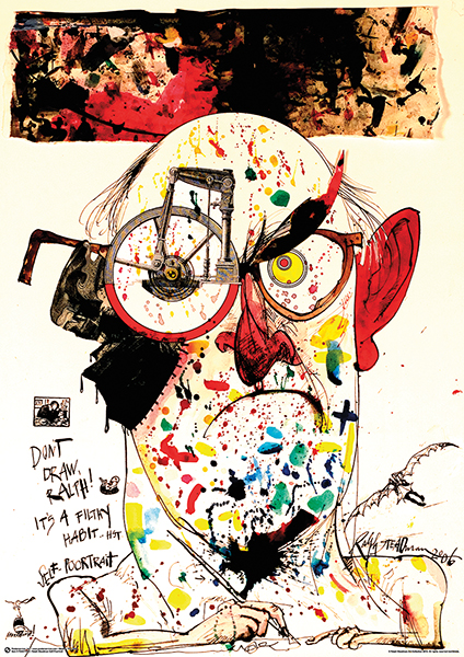 Ralph Steadman Self-Poortrait