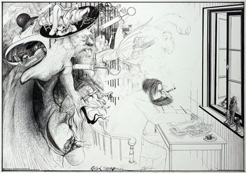 Ralph Steadman - The Secret of Dreams