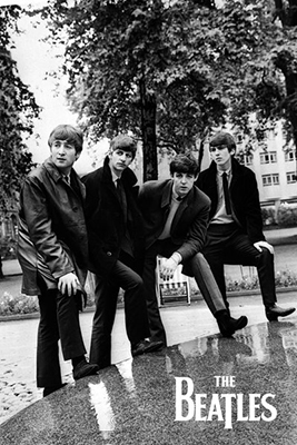 The Beatles Pose