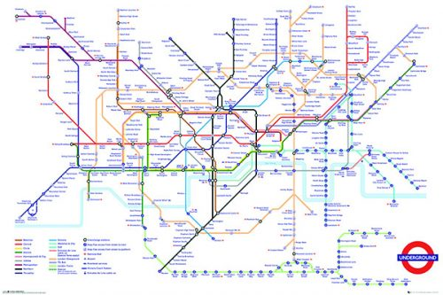 Transport for London Underground Map