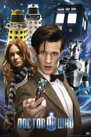 Doctor Who Collage