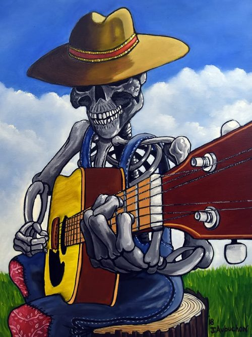 Bone Man Country Guitar