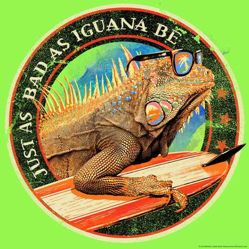 Just As Bad As Iguana Be